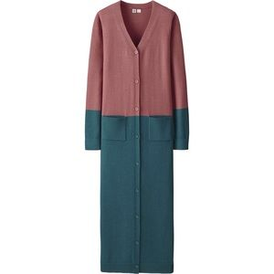 Uniqlo U by Christope Lemaire Long Pink Cardigan